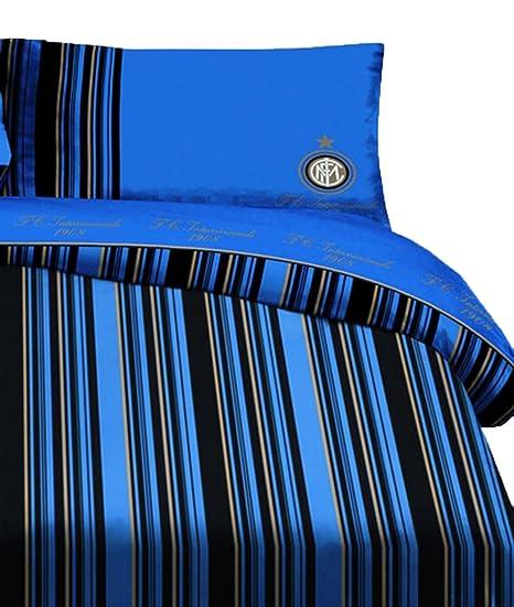 Inter Milan Simple Housse De Couette 155 Cm X 200 Cm Amazon Fr