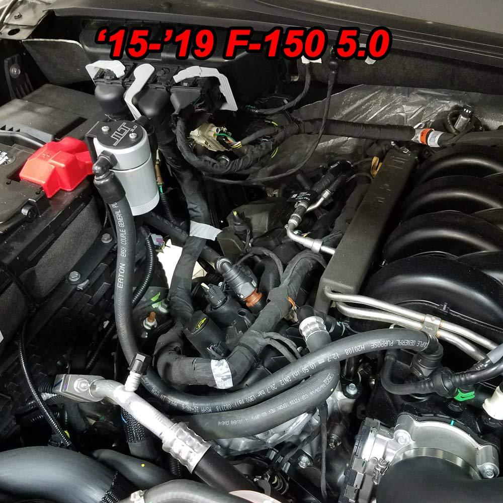 2011 - 2017 Ford F150 5.0/6,2/3.5eb/2.7eb JLT lado del pasajero separador de aceite transparente: Amazon.es: Coche y moto