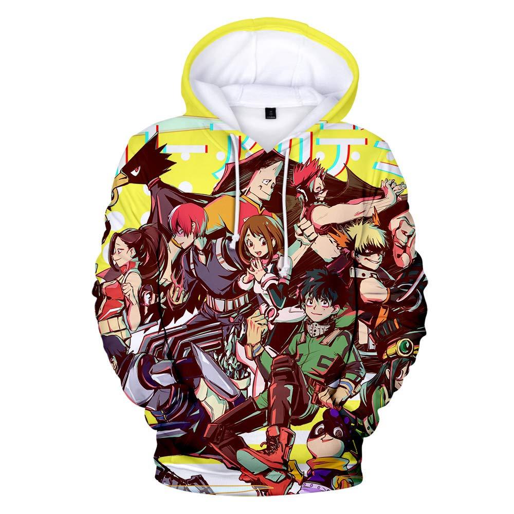 Oxking Unisex 3D Digital Print Pullover Hoodies Hooded Sweatshirts