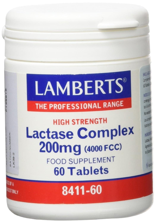 Lamberts Complejo de Lactasa 200mg - 60 Tabletas: Amazon.es ...