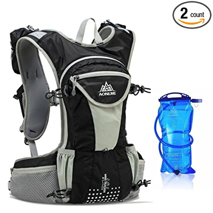 d7fb1e1e5a94 Amazon.com   Sywwlov Hydration Pack Backpacks with 1.5L Water ...