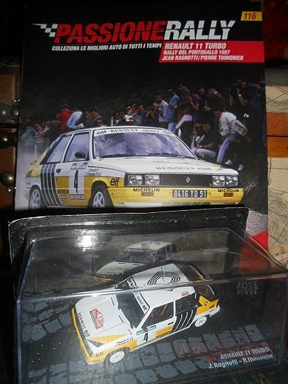 EDICOLA Renault 11 Turbo Portogallo 1987 Ragnotti Model DIECAST 1:43 +fas Passione Rally