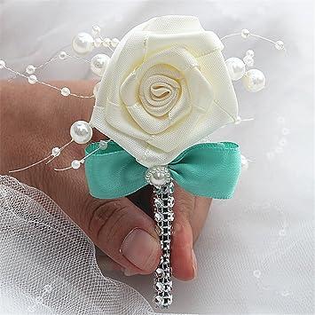 Amazon.com: usix 6pc pack-handmade para hombre solapa flor ...