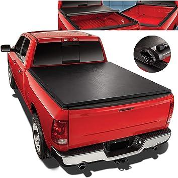 Amazon Com Roll Up Vinyl Soft Tonneau Cover Replacement For 04 15 Nissan Titan 5 7 Ft Short Bed Fleetside Truck Automotive