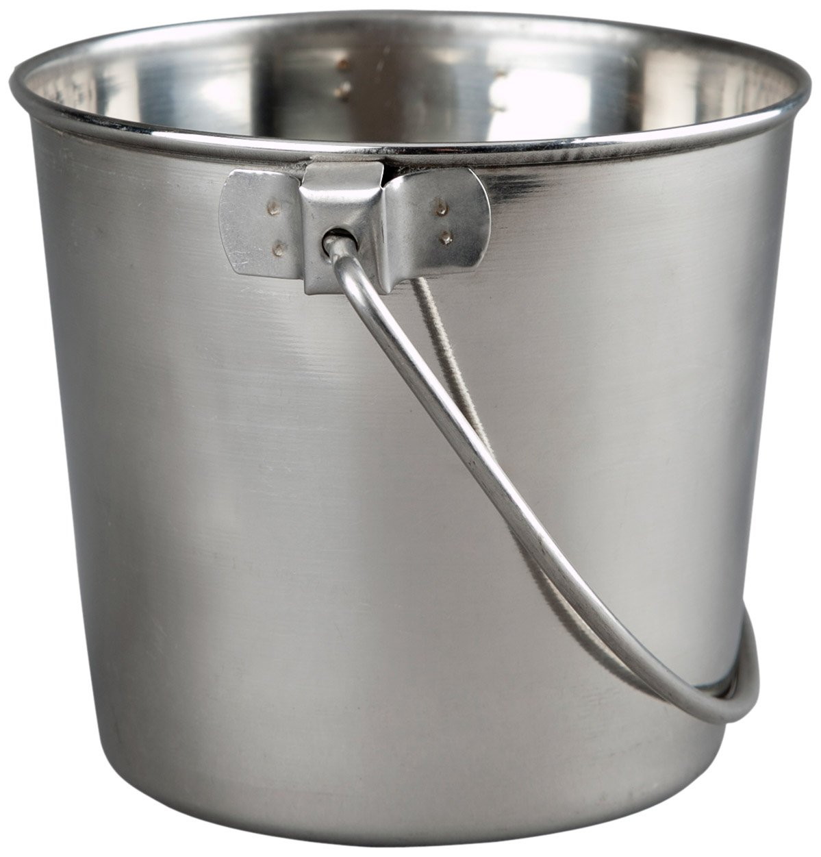 Advance Pet Products Heavy Stainless Steel Round Bucket, 6-Quart by Advance Pet Products