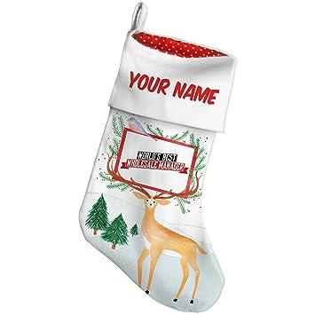 christmas stocking worlds best wholesale manager snow deer neonblond - Wholesale Christmas Stockings