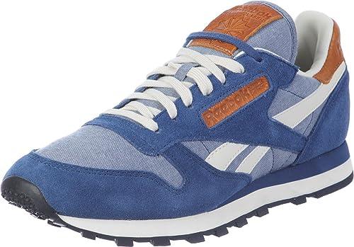 ca700b1d03784b Sneakers Cl Leather Ch Batik Blue Paperwhite Chalk Black Reebok 40 Uomo