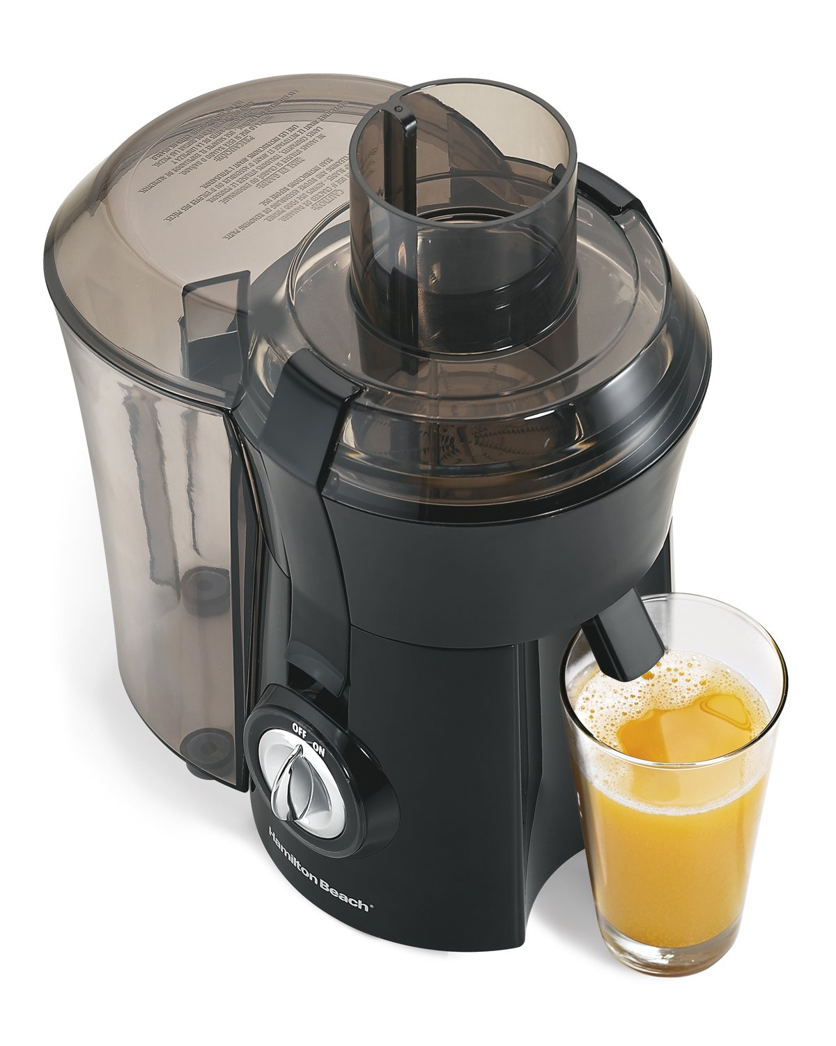 Hamilton Beach 67601 Big Mouth Juice Extractor, Black