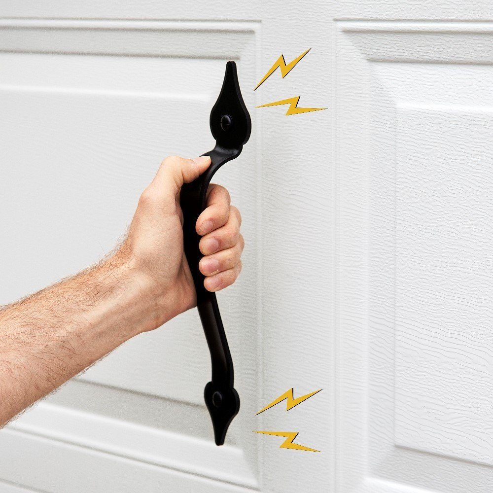 Creative Hardware 452-07 Magnetic Garage Door Handle/Hinge ...