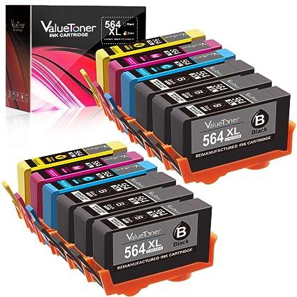 Valuetoner - Juego de 12 cartuchos de tinta remanufacturados para ...