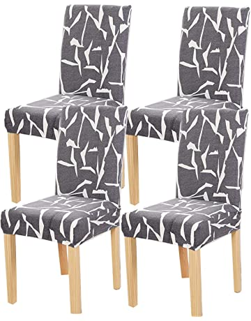 Amazon Co Uk Dining Chair Slipcovers Home Kitchen