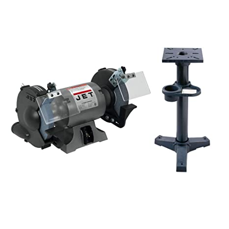 Marvelous Jet Shop Bench Grinder With Stand 8In Dia Wheel Model Pdpeps Interior Chair Design Pdpepsorg