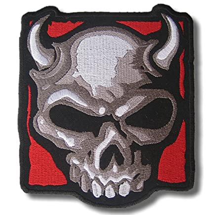 Amazon com: Diablo - Embroidered Patch 14 x 16 cm