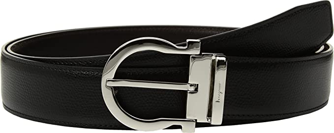 b29f6a60a1 Image Unavailable. Image not available for. Color  Salvatore Ferragamo  Men s Adjustable   Reversible Belt ...