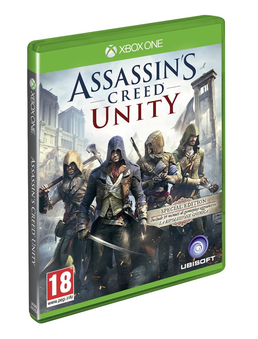 Assassins Creed Unity - Day-One Edition [Importación Italiana ...