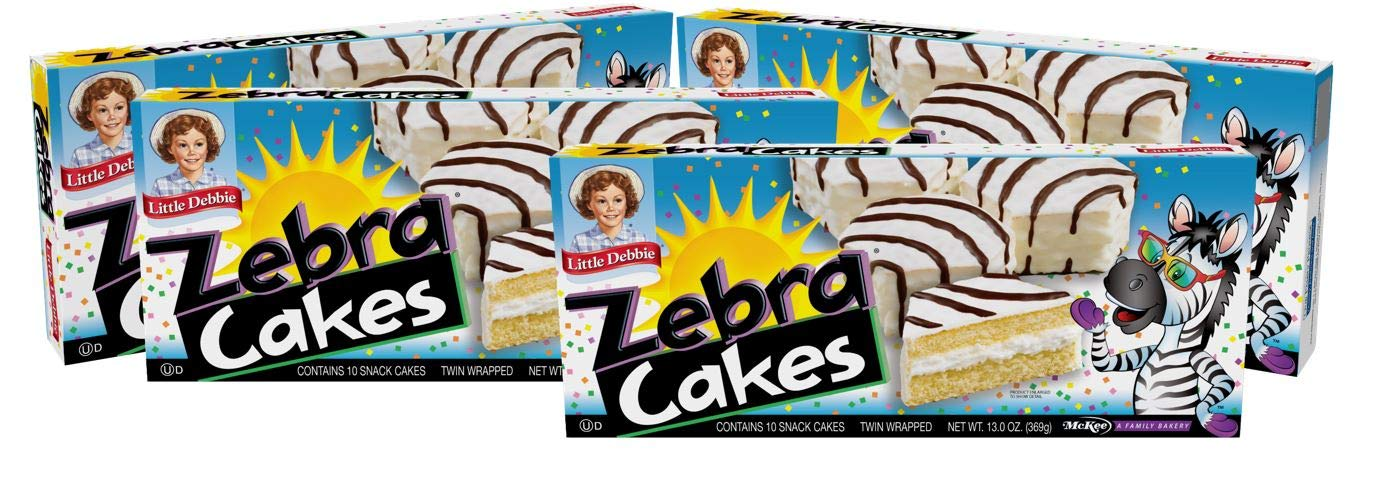 Little Debbie Zebra Cakes Contains 10 Snack Cakes Twin Wrapped 4 Pack Amazon Com Grocery Gourmet Food This recipe was recently featured in a magazine but it was done in stacks of 5 cookies with. little debbie zebra cakes contains 10 snack cakes twin wrapped 4 pack