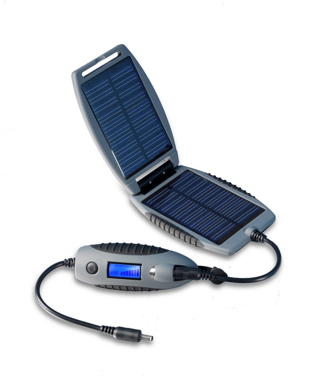 Powertraveller Powermonkey Explorer Solar Portable Charger, Grey by Powertraveller