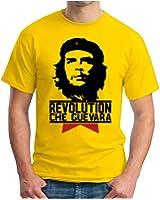 OM3 - CHE GUEVARA - T-Shirt Cuba Revolution Hasta la Victoria Siempre Fidel Castro Rum Cigars, S - 5XL