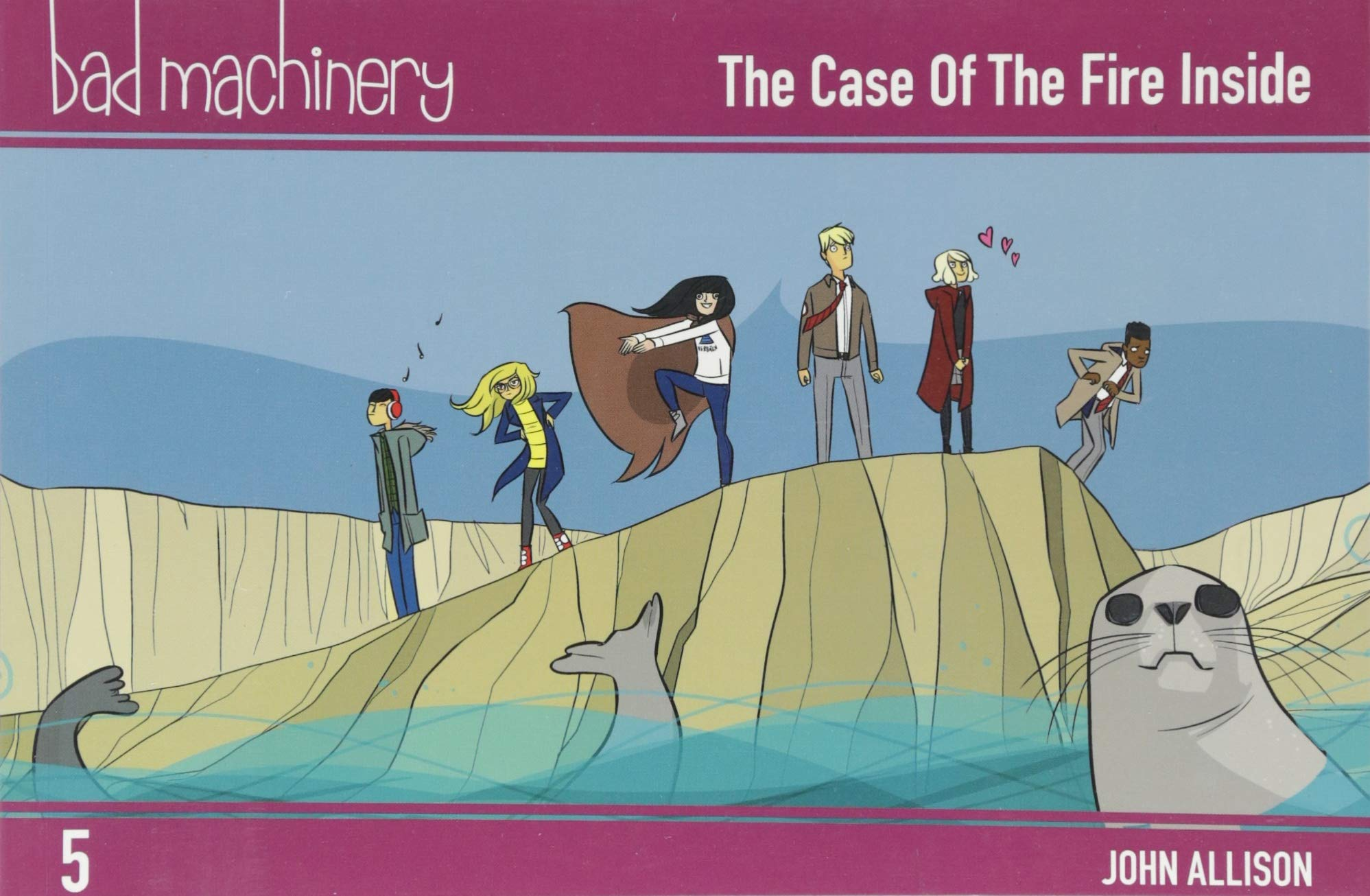Download Bad Machinery Vol. 5: The Case of the Fire Inside, Pocket Edition pdf