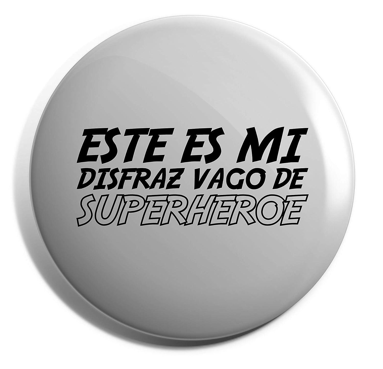 HippoWarehouse Este es mi Disfraz Vago de Superhéroe Placa: Amazon ...
