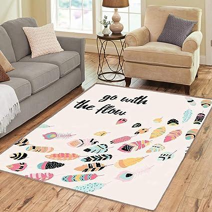 decorative play mat.htm amazon com rug  floor mat rug  feather  area rug  go with the  amazon com rug  floor mat rug  feather