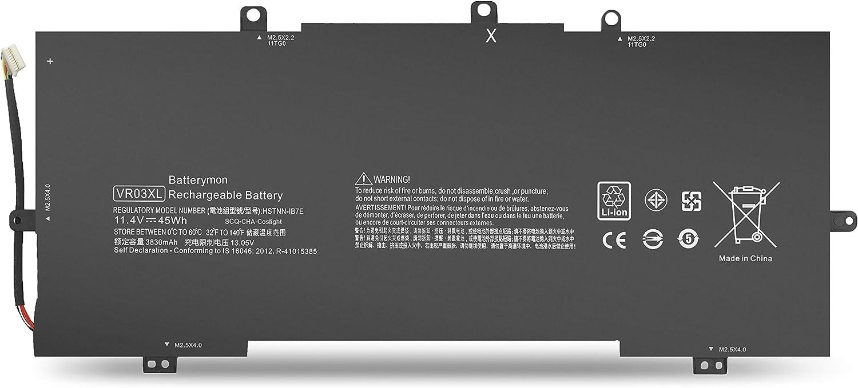 VR03XL Battery for HP Envy 13-D 13-D000 13-d040wm 13-d006la 13-d010nr 13-d099nr 13-d050sa 13-d016tu 13-d017tu 13-d023tu 13-d024tu 13-d025tu 13-d046tu 13-d051tu Laptop 816497-1C1 HSTNN-IB7E
