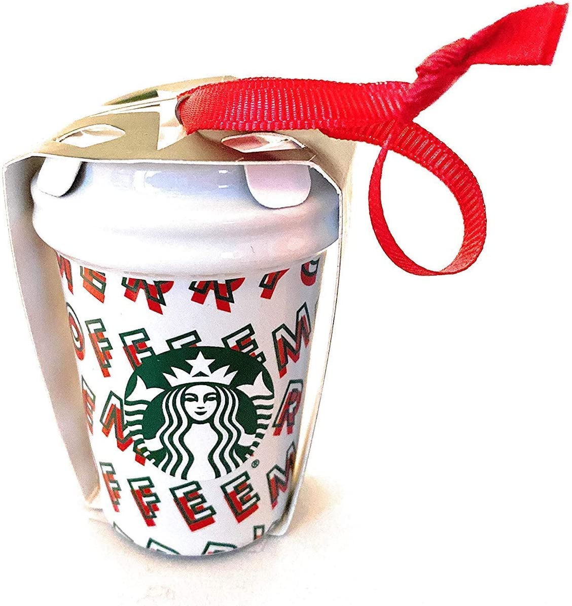 Starbucks Merry Coffee 2019 Ceramic Ornament