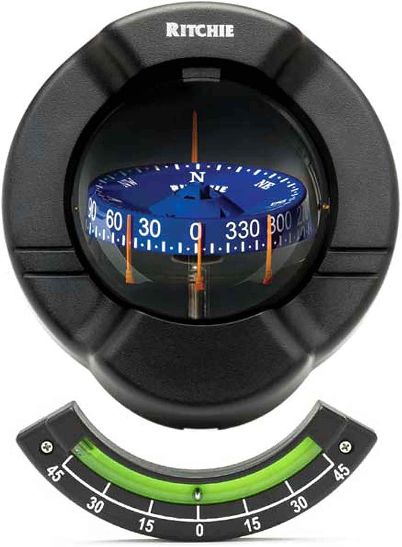 Ritchie Navagation SR-2-1 Venture Bulkhead Mount Compass-CombiDial