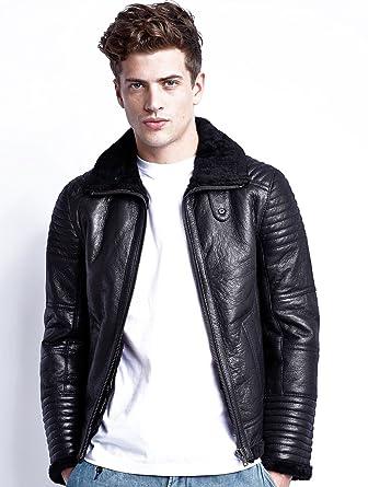 Segura Veste en cuir Hermes Black M Homme  Amazon.fr  Vêtements et ... fa76399d1ca