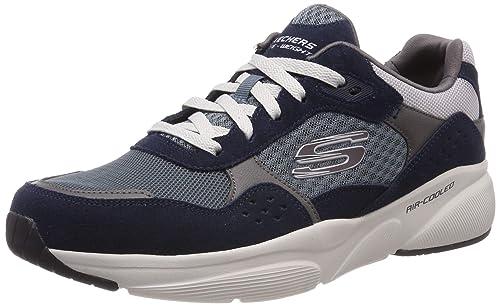 Skechers Herren Meridian Ostwall Sneaker, braun, 39 EU