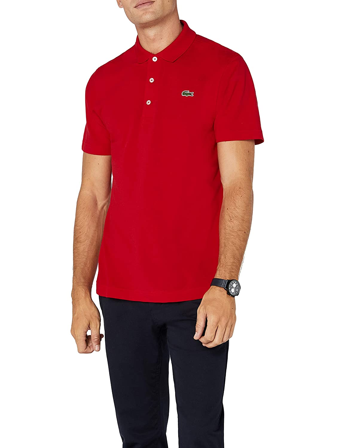 Rouge (Rouge) L Lacoste Polo Homme