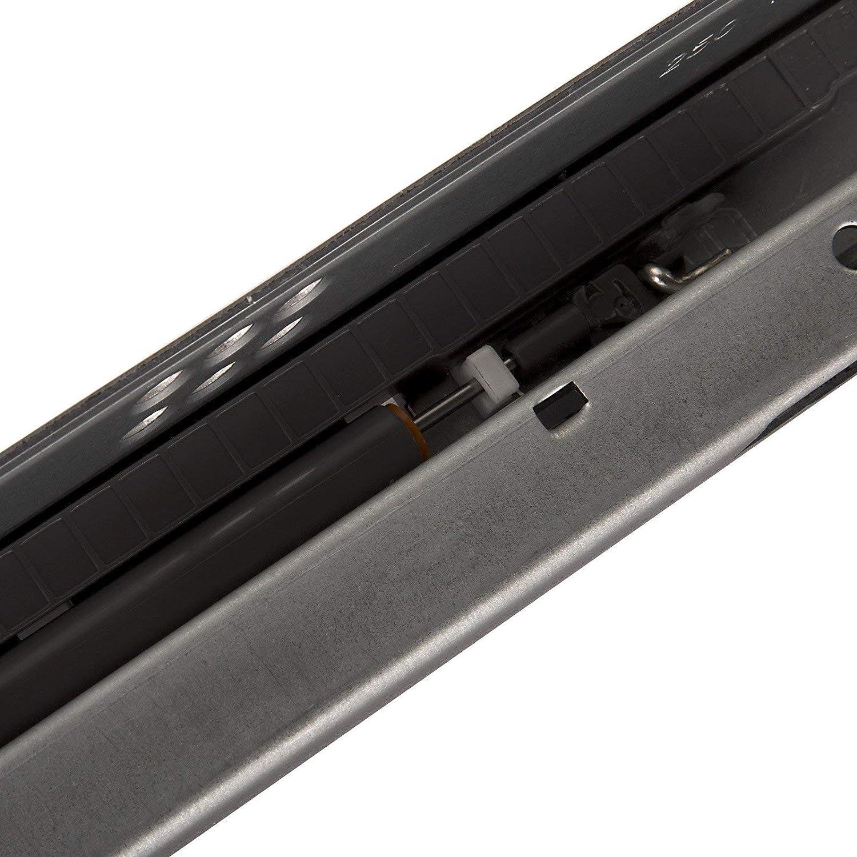 SOTECH 1 Paar Partslide Schubladenausz/üge UT2-25-K1D-L600-SC L/änge 600 mm Teilauszug mit D/ämpfung f/ür Holzschublade