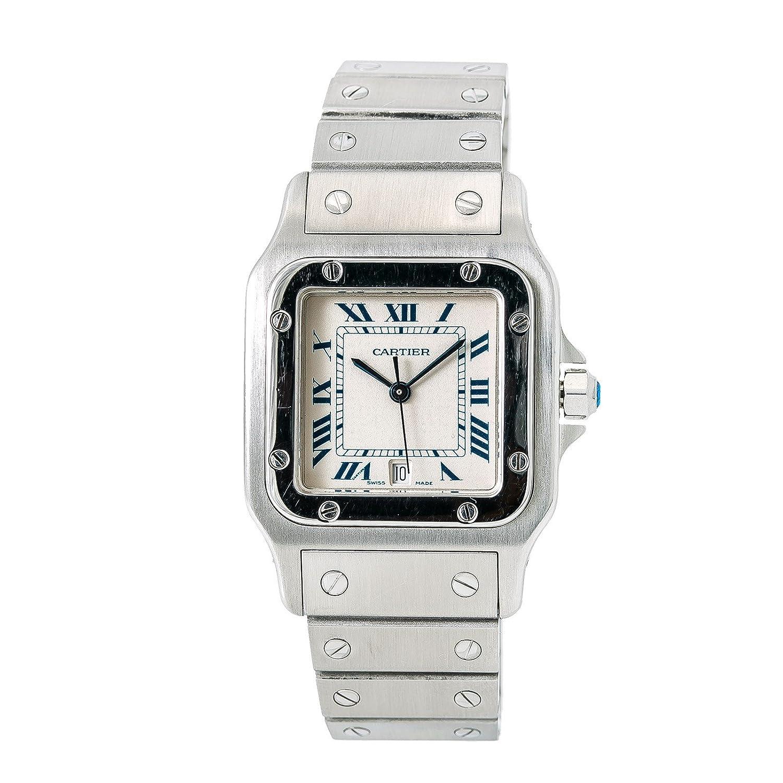 カルティエSantos Galbeeクォーツメンズ腕時計