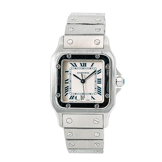 b20c9d746674 Cartier Santos Galbee Quartz Mens Watch 1564 (Certified Pre-Owned)  Cartier   Amazon.ca  Watches