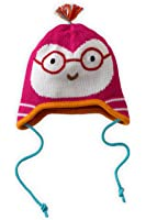 Joobles Organic Baby Earflap Cap - Jody the Owl (0-12 Months)