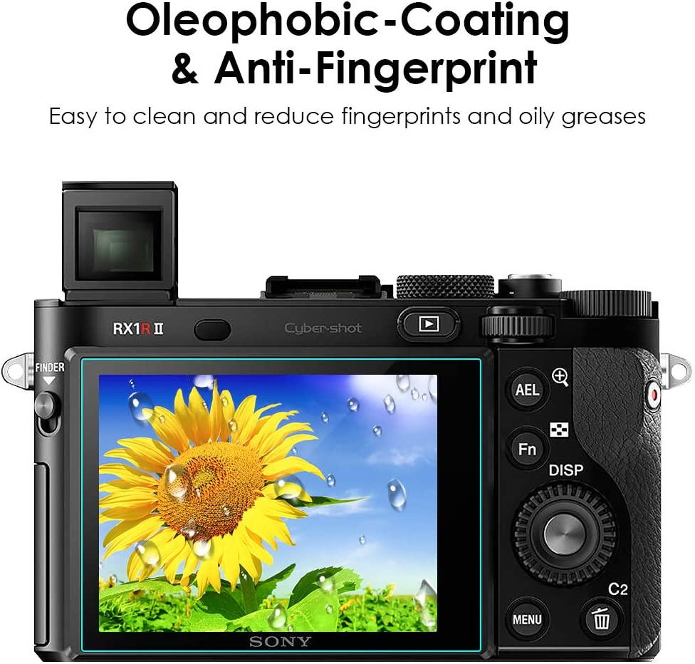 Display Protection Film Savvies Crystalclear Screen Protector for Sony HDR-PJ10E Protective Film 100/% fits