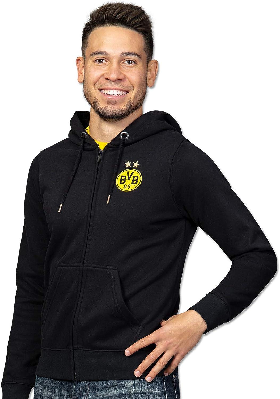 Giacca Unisex Adulto Borussia Dortmund Felpa con Cappuccio con ...
