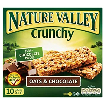 Nature Valley Barras De Granola Crujiente - Avena Y ...