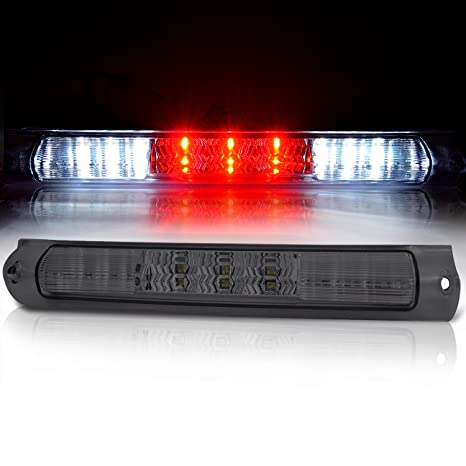 amazon com: rxmotor ford f150 led third 3rd brake tail lights rear brake  lamps smoke for 1997-2003: automotive