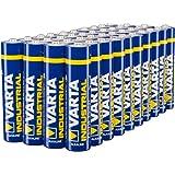 Varta Piles Alcalines Industrial Battery Type AAA LR3 Micro Pack de 40