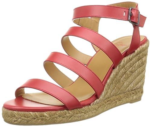 Castañer Bayna/8/118, Alpargatas para Mujer, 21 Rojo, 35 EU: Amazon.es: Zapatos y complementos