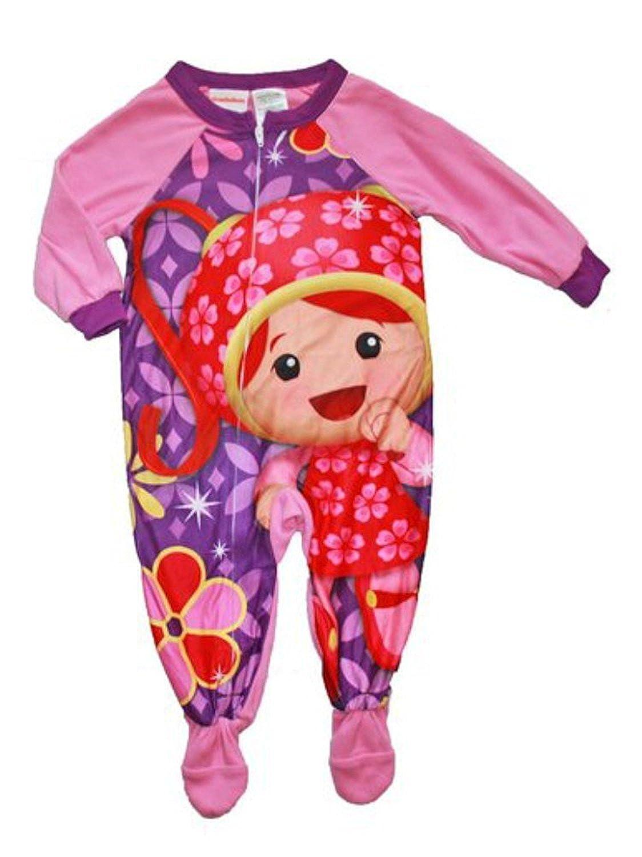 Team Umizoomi Girl Footed Blanket Sleeper Pajama Size 3T