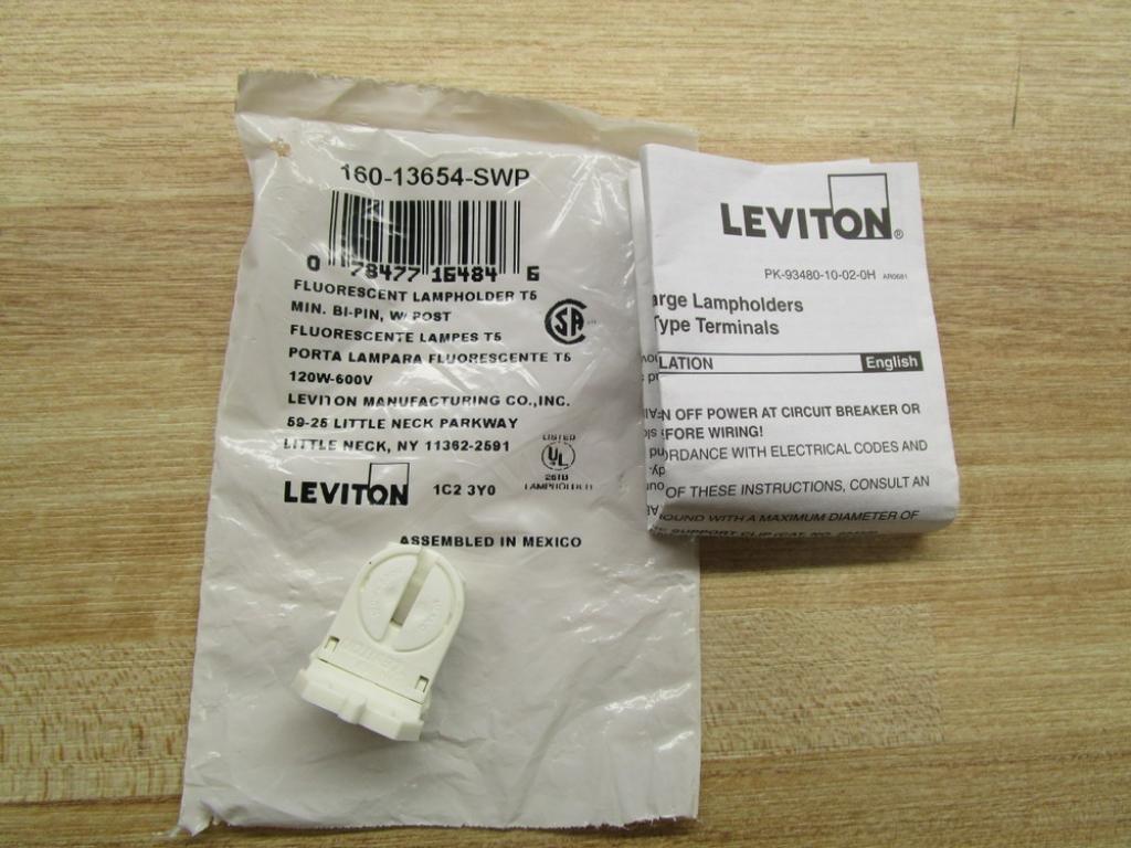 Amazon.com: Leviton 160 – 13654-swp Lampholder: Industrial ...