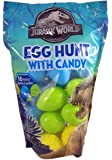 Jurassic World Egg Hunt Easter Pack Eggs with Candy, 16 Ct