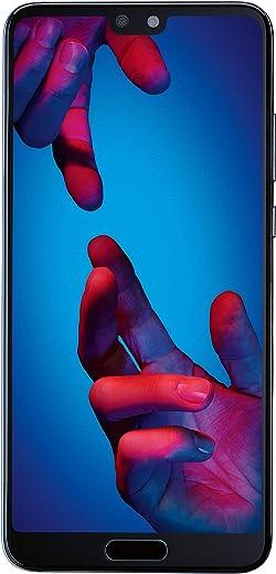 """Huawei P20 Dual SIM 4G 128GB Black, Blue - Smartphones (14.7 cm (5.8""""), 128 GB, 20 MP, Android, 8.1 Oreo + EMUI 8.1, Black, Blue)"""