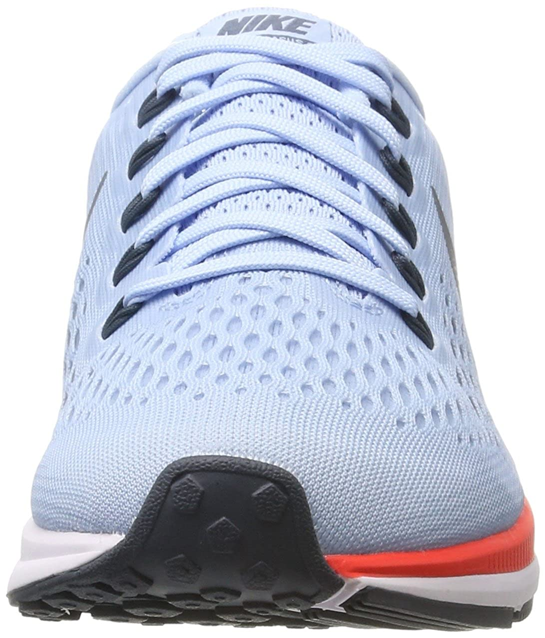 Amazon.com | NIKE WMNS Air Zoom Pegasus 34 880560-404 Ice Blue/Crimson Womens Running Shoes | Road Running