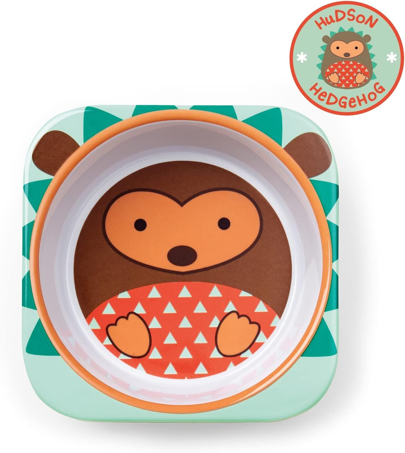 Skip Hop Zoo dise/ño hedgehog multicolor Set vajilla