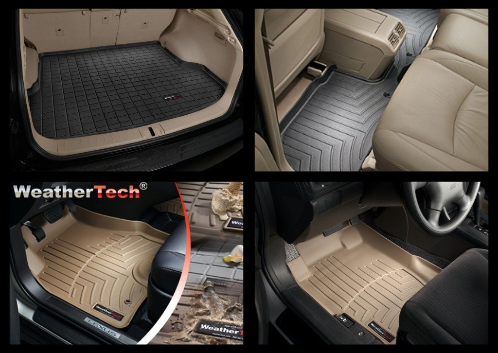 2002-2012 Mercedes-Benz G-Class (W463) Black Front FloorLiner by WeatherTech
