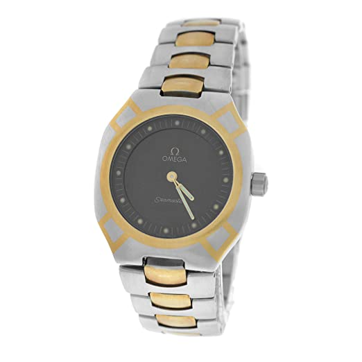 Omega Seamaster Polaris cuarzo Mens Reloj 1455/448 (Certificado) de segunda mano: Omega: Amazon.es: Relojes