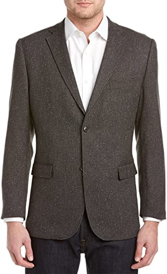 Greg Norman Mens Wool Two Button Blazer Jacket